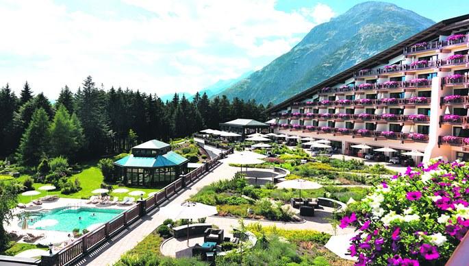 Hotel austriaco donde se celebro la edición del Club Bilderberg en 2015.